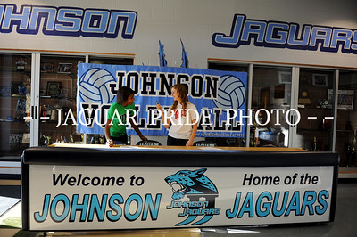 Johnson Volleyball - November 16, 2011 - Teel and Dillard Signing NLI JPP01