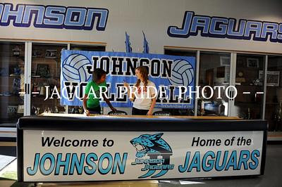 Johnson Volleyball - November 16, 2011 - Teel and Dillard Signing NLI JPP01