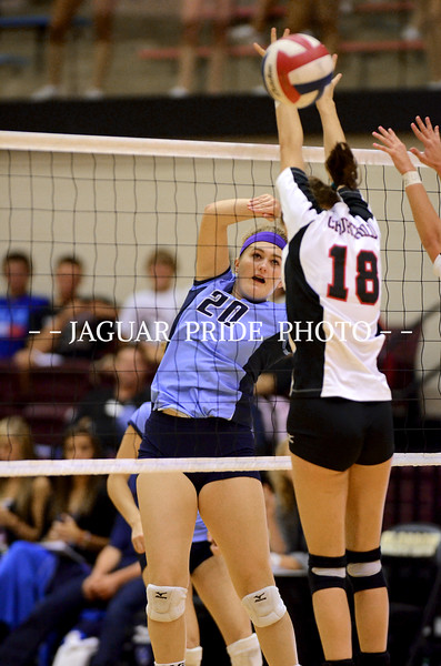 Johnson Volleyball - October 18, 2011 - Varsity vs Churchill District Champs