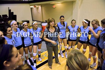 Johnson Volleyball - October 26, 2011 - Varsity Senior Night vs Lee