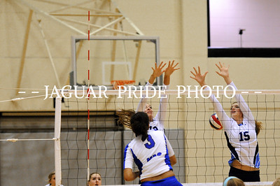 Johnson Volleyball - October 4, 2011 - Varsity vs MacArthur JPPJW