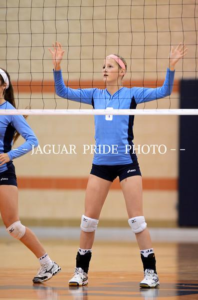 Johnson Volleyball - October 7, 2011 - JV vs Madison
