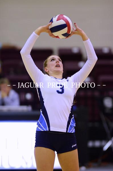 Johnson Volleyball - September 9, 2011 - Varsity vs MacArthur