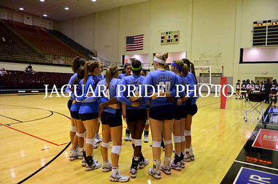Johnson Volleyball - September 20, 2011 - Varsity vs Roosevelt
