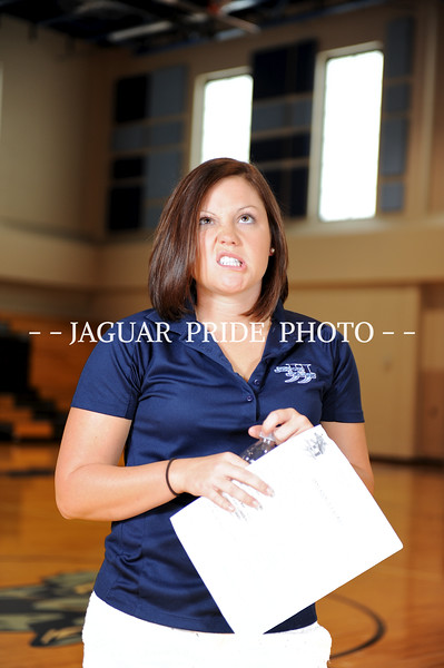 Johnson Volleyball - August 9, 2012 - Feshman, JV and Varsity Team Photo Day