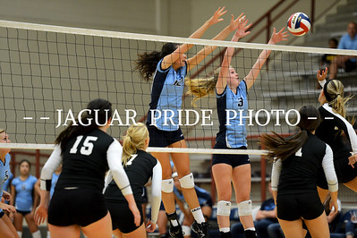 Johnson Volleyball - August 13, 2012 - Varsity vs Clark JPP01