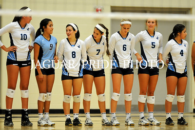 Johnson Volleyball - August 15, 2012 - Varsity vs Brandeis JPP01