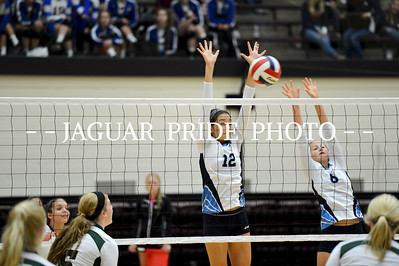 Johnson Volleyball - August 27, 2012 - Varsity at NEISD Tournament JPP01