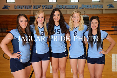 Johnson Volleyball - August 8, 2013 - Freshman, JV and Varsity Team Photo Day