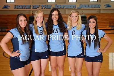 Johnson Volleyball - August 8, 2013 - Freshman, JV and Varsity Team Photo Day