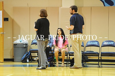 Johnson Volleyball - 10/7/14 - Varsity vs Lee