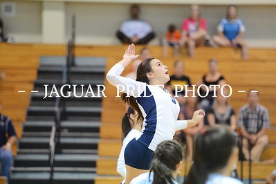 Johnson Volleyball - August 19, 2014 - Freshman A vs Brennan