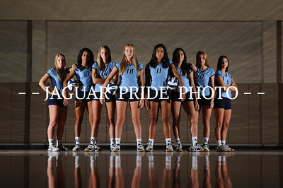 Johnson Volleyball - August 7, 2015 - Varsity, JV and Freshman Team Photo Day