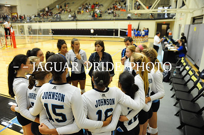 Johnson Volleyball - August 22, 2015 - Varsity vs MacArthur NEISD Tournament
