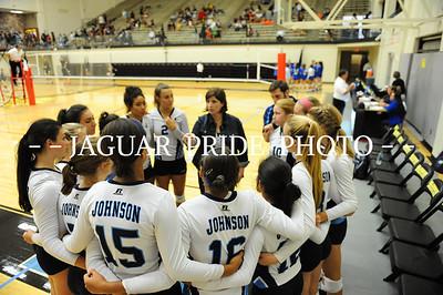 Johnson Volleyball - August 22, 2015 - Varsity vs MacArthur NEISD Tournament