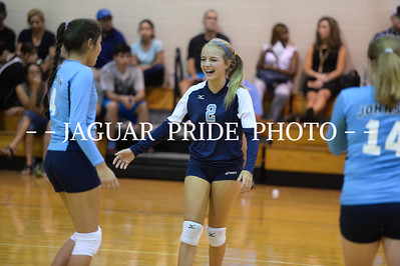 Johnson Volleyball - September 1, 2015 - Freshman B vs New Braunfels