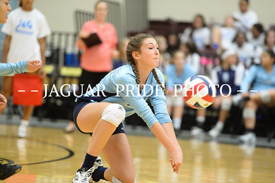Johnson Volleyball - September 30, 2015 - Freshman B vs Churchill