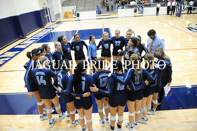 Johnson Volleyball - November 6, 2015 - Varsity vs Clark playoff R2