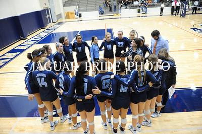 Johnson Volleyball - November 6, 2015 - Varsity vs Clark playoff R2