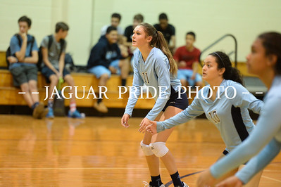 Johnson Volleyball - October 28, 2015 - Freshman B vs Mac