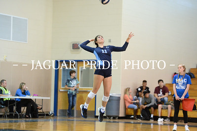 Johnson Volleyball - October 28, 2015 - JV vs Mac