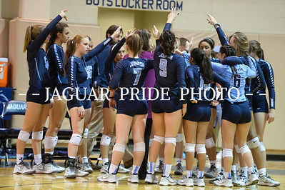 Johnson Volleyball - October 28, 2015 - Varsity vs Mac