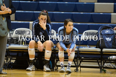 Johnson Volleyball - November 3, 2015 - Varsity vs Smithson Valley Playoff Round-1