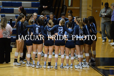 Johnson Volleyball - November 10, 2015 - Varsity vs NB Canyon Playoff R3