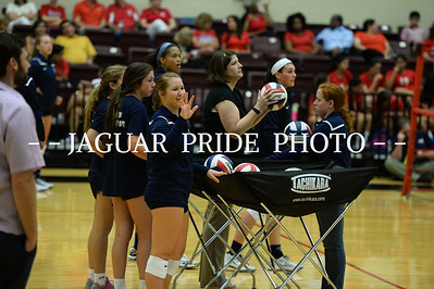 Johnson Volleyball - 150819 August 19, 2015 - Varsity vs Antonian