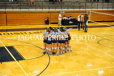 Johnson Volleyball - August 10, 2015 - Varsity vs Brandeis