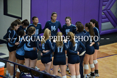 Johnson Volleyball - November 1, 2016 - Varsity vs Vandgrift