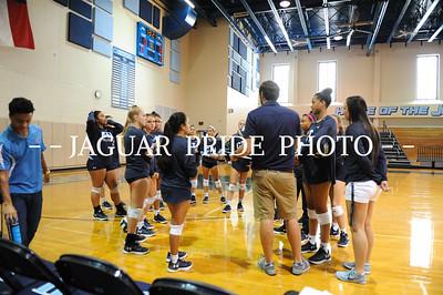 Johnson Volleyball - August 18, 2017 - Varsity vs East Central