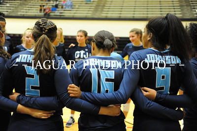 Johnson Volleyball - August 19, 2017 - Varsity vs Clemens