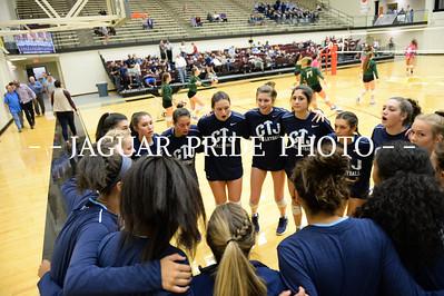 Johnson Volleyball - October 17, 2017 - Varsity vs Reagan Senior Night