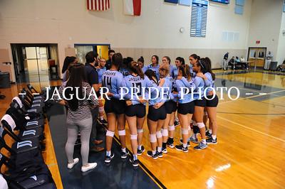 Johnson Volleyball - August 7, 2017 - Varsity vs Clark