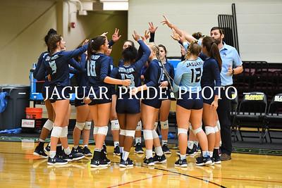 Johnson Volleyball - August 14, 2018 - Varsity vs Warren