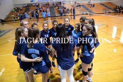 Johnson Volleyball - August 15, 2018 - Freshman A vs Clark