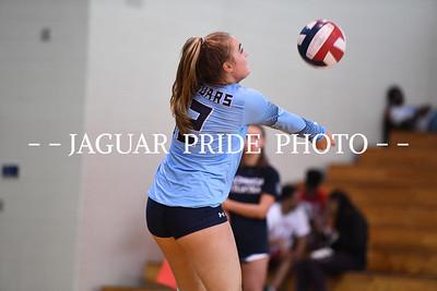 Johnson Volleyball - August 17, 2018 - Varsity vs Holy Cross