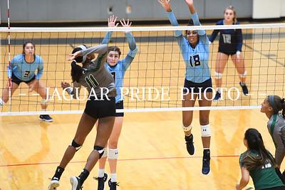 Johnson Volleyball - August 18, 2018 - Varsity vs reagan