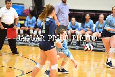 Johnson Volleyball - September 14, 2018 - Varsity vs MacArthur