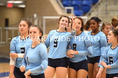 Johnson Volleyball - October 30, 2018 - Varsity vs Brandeis