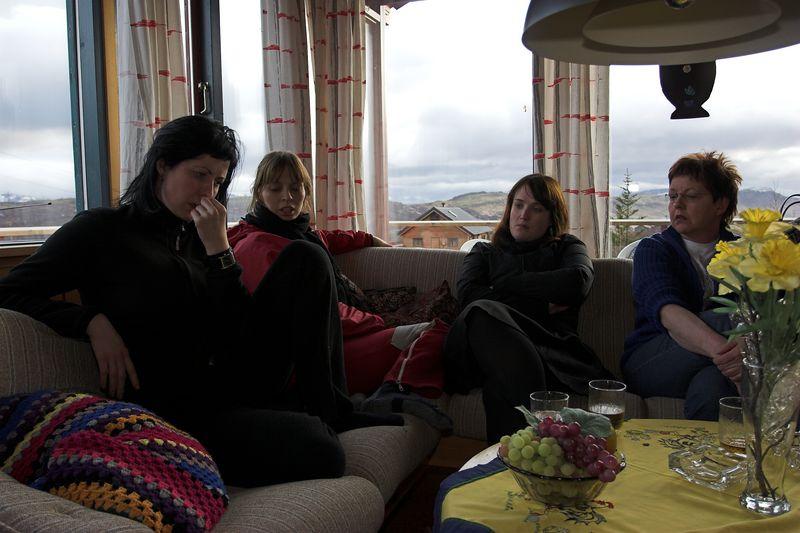 Særún, Sonja, Gréta og Gugga.