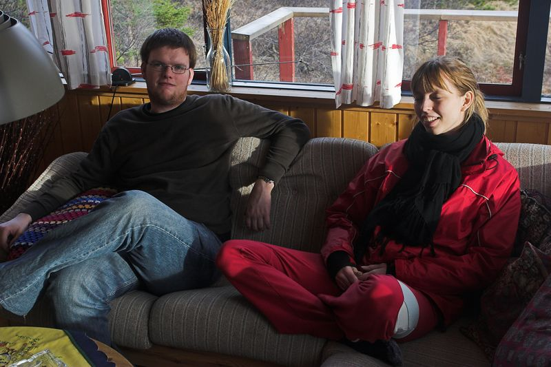 Rauðskeggur og Sonja.