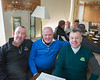 Don Doyle, Pat Sheehy & Patrick (Whacker) Doyle at the AGM