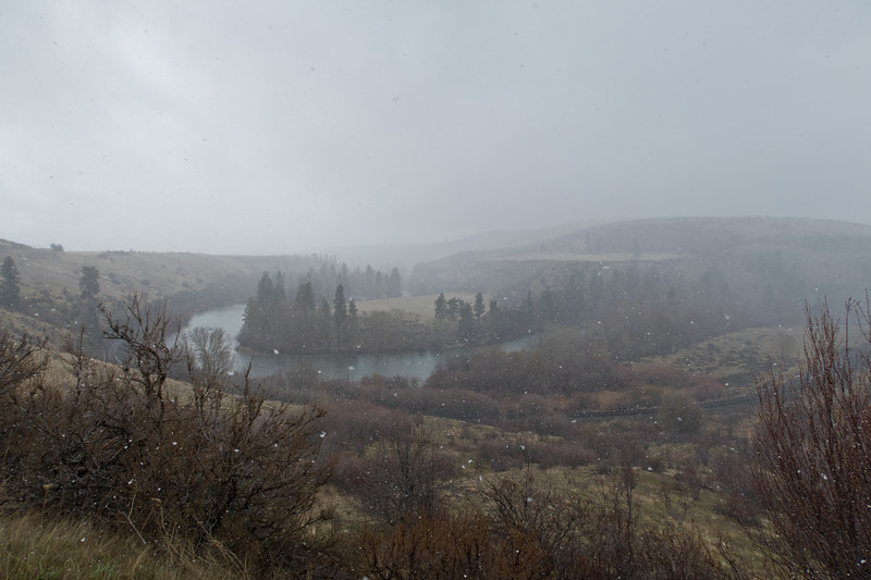Spring Snowstorm, Yakima River