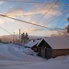 Winter Sunrise, Roslyn, WA