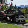 Old Lumber Hauling Steam Engine