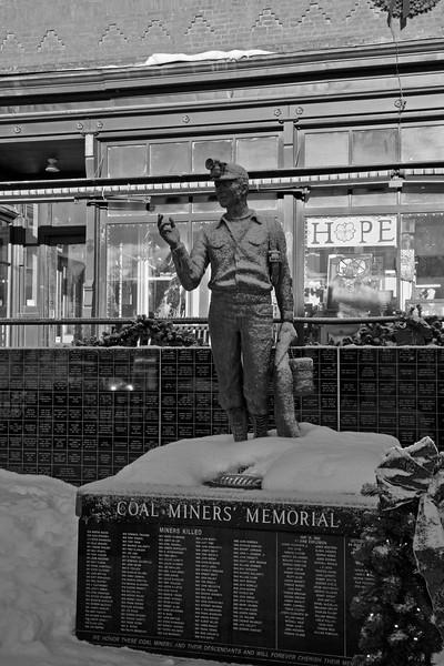 Roslyn Coal Miners Memorial