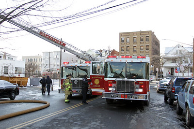 2 Alarm Structure Fire - 9 Woodland Ave, Stamford, CT - 1/9/15
