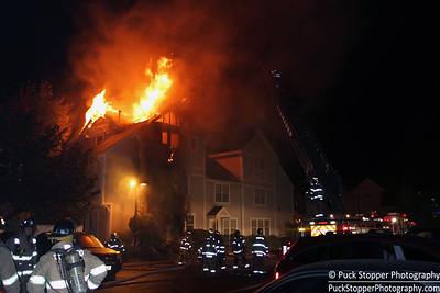 3 Alarm Condo Fire - 1 Southfield Ave, Stamford, CT - 10/19/16
